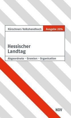 Kürschners Handbuch Hessischer Landtag von Holzapfel,  Andreas