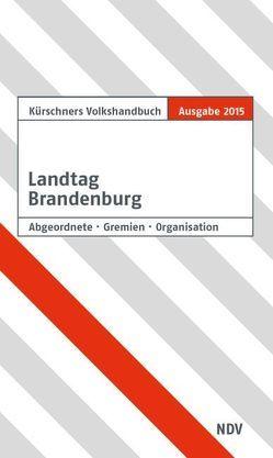 Kürschners Volkshandbuch Landtag Brandenburg von Holzapfel,  Andreas
