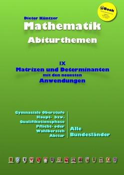 Kursthemen / Matrizen und Determinanten von Küntzer,  Dieter
