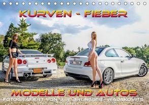 Kurven – Fieber – Modelle und Autos (Tischkalender 2018 DIN A5 quer) von R. Brüngger,  Jimmi