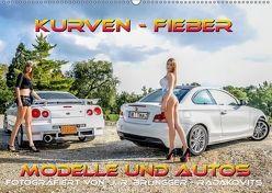 Kurven – Fieber – Modelle und Autos (Wandkalender 2018 DIN A2 quer) von R. Brüngger,  Jimmi