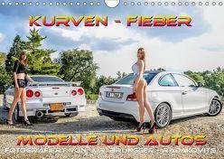 Kurven – Fieber – Modelle und Autos (Wandkalender 2019 DIN A4 quer) von R. Brüngger,  Jimmi