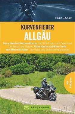 Kurvenfieber Allgäu von Studt,  Heinz E.