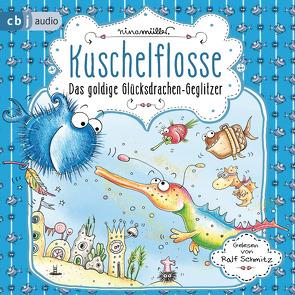Kuschelflosse – Das goldige Glücksdrachen-Geglitzer von Müller,  Nina, Schmitz,  Ralf