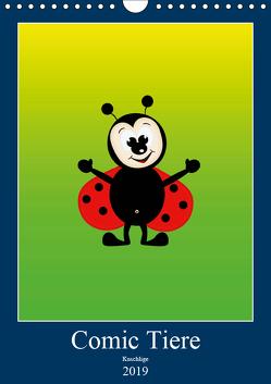 Kuschlige Comic Tiere (Wandkalender 2019 DIN A4 hoch) von Burlager,  Claudia