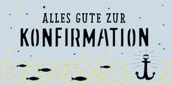 Kuvert für einen Geld- oder Gutschein – Alles Gute zur Konfirmation von Sander,  Gesa