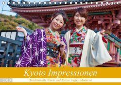Kyoto Impressionen (Tischkalender 2019 DIN A5 quer) von Kurz,  Michael
