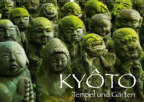 Kyoto – Tempel und Gärten (Wandkalender 2018 DIN A2 quer) von Christopher Becke,  Jan