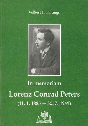 L. C. Peters in memoriam von Faltings,  Volkert F, Tholund,  Jakob