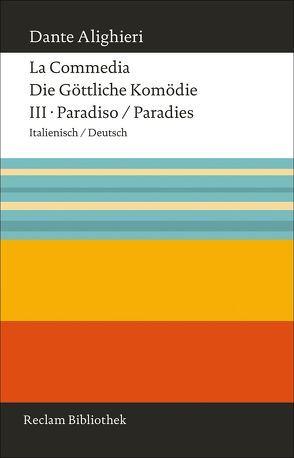 La Commedia / Die Göttliche Komödie von Dante Alighieri, Köhler,  Hartmut