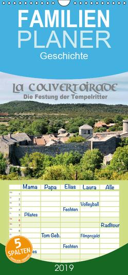 La Couvertoirade – die Festung der Tempelritter – Familienplaner hoch (Wandkalender 2019 , 21 cm x 45 cm, hoch) von Bartruff,  Thomas
