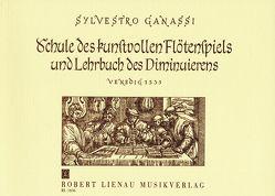 La Fontegara von Ganassi,  Silvestro, Peter,  Hildemarie