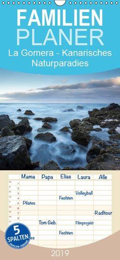 La Gomera – Kanarisches Naturparadies – Familienplaner hoch (Wandkalender 2019 , 21 cm x 45 cm, hoch) von Knödler,  Stephan
