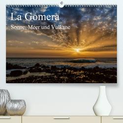 La Gomera Sonne, Meer und Vulkane (Premium, hochwertiger DIN A2 Wandkalender 2021, Kunstdruck in Hochglanz) von Voss,  Michael