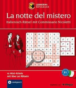 La notte del mistero – Italienisch-Rätsel mit Commissario Nicoletti von Vial,  Valerio