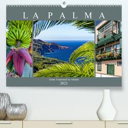 La Palma – Grüne Trauminsel im Atlantik (Premium, hochwertiger DIN A2 Wandkalender 2021, Kunstdruck in Hochglanz) von Meyer,  Dieter