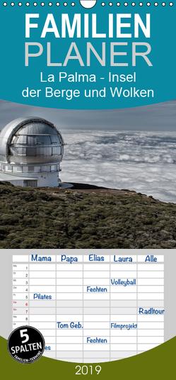 La Palma – Insel der Berge und Wolken – Familienplaner hoch (Wandkalender 2019 , 21 cm x 45 cm, hoch) von Stern,  Angelika