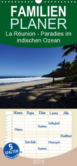La Réunion – Paradies im indischen Ozean – Familienplaner hoch (Wandkalender 2019 , 21 cm x 45 cm, hoch) von Löwe,  Karsten
