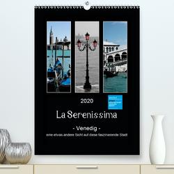 La Serenissima – Venedig (Premium, hochwertiger DIN A2 Wandkalender 2020, Kunstdruck in Hochglanz) von Fleiß und Karsten Schütt,  Ursula, Foto-FukS