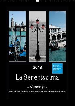 La Serenissima – Venedig (Wandkalender 2018 DIN A2 hoch) von Fleiß und Karsten Schütt,  Ursula, Foto-FukS,  k.A.
