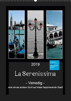 La Serenissima – Venedig (Wandkalender 2019 DIN A2 hoch) von Fleiß und Karsten Schütt,  Ursula, Foto-FukS