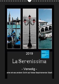 La Serenissima – Venedig (Wandkalender 2019 DIN A3 hoch) von Fleiß und Karsten Schütt,  Ursula, Foto-FukS