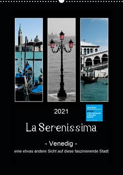 La Serenissima – Venedig (Wandkalender 2021 DIN A2 hoch) von Fleiß und Karsten Schütt,  Ursula, Foto-FukS