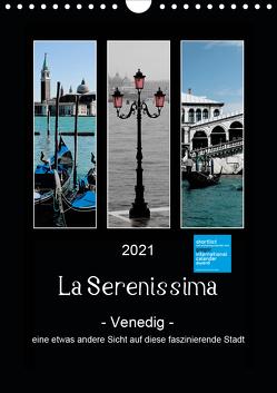 La Serenissima – Venedig (Wandkalender 2021 DIN A4 hoch) von Fleiß und Karsten Schütt,  Ursula, Foto-FukS