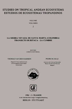La Sierra Nevada de Santa Marta (Colombia) von Hammen,  Thomas van der, Ruiz,  Pedro M