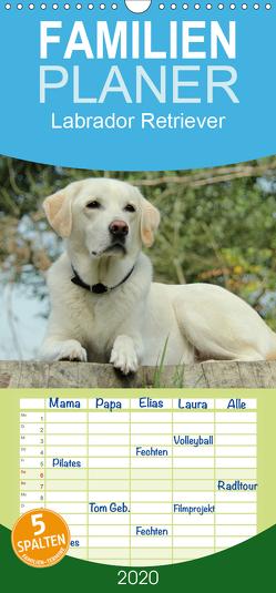 Labrador Retriever 2020 – Familienplaner hoch (Wandkalender 2020 , 21 cm x 45 cm, hoch) von Schreuer,  Anita