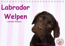Labrador Welpen – Labrador Puppies (Tischkalender 2020 DIN A5 quer) von Hutfluss,  Jeanette