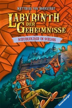 Labyrinth der Geheimnisse, Band 5: Schurkenjagd im Schloss von Bornstädt,  Matthias, Christoph,  Silvia