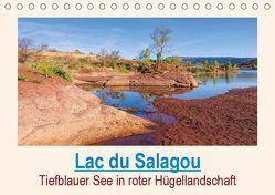 Lac du Salagou – Tiefblauer See in roter Hügellandschaft (Tischkalender 2019 DIN A5 quer) von LianeM