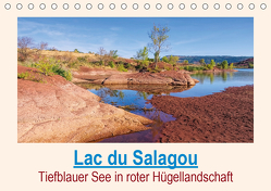 Lac du Salagou – Tiefblauer See in roter Hügellandschaft (Tischkalender 2020 DIN A5 quer) von LianeM
