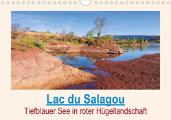 Lac du Salagou – Tiefblauer See in roter Hügellandschaft (Wandkalender 2020 DIN A4 quer) von LianeM