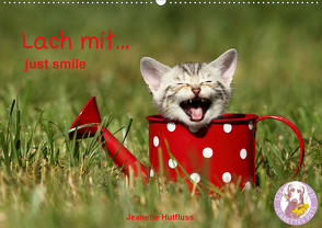 lach mit…just smile (Wandkalender 2020 DIN A2 quer) von Hutfluss,  Jeanette
