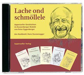 Lache ond schmöllele von Eggenberger,  Peter, Sturzenegger,  Hans