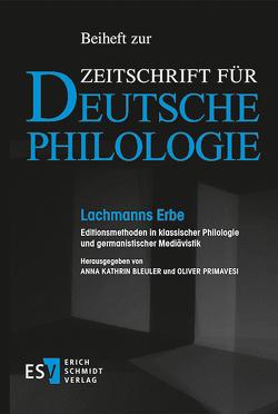 Lachmanns Erbe von Bleuler,  Anna Kathrin, Primavesi,  Oliver