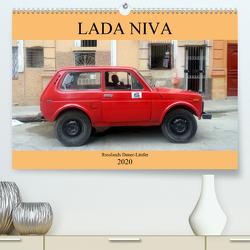 LADA NIVA – Russlands Dauer-Läufer (Premium, hochwertiger DIN A2 Wandkalender 2020, Kunstdruck in Hochglanz) von von Loewis of Menar,  Henning