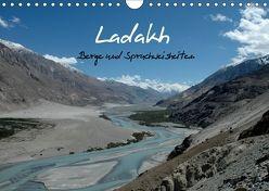 Ladakh, Berge und Spruchweisheiten (Wandkalender 2018 DIN A4 quer) von und Joachim Beuck,  Angelika