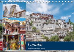 Ladakh – Buddhistische Klöster (Tischkalender 2019 DIN A5 quer) von Leonhardy,  Thomas