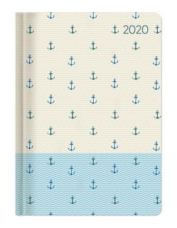 Ladytimer Anchor 2020 – Anker – Taschenkalender A6 (11 x 15) – Weekly – 192 Seiten – Notizbuch – Terminplaner von ALPHA EDITION