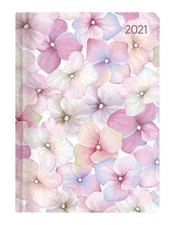 Ladytimer Blossoms 2021 – Blüte – Taschenkalender A6 (11×15 cm) – Weekly – 192 Seiten – Notiz-Buch – Termin-Planer – Alpha Edition