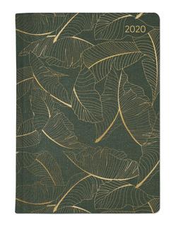 Ladytimer Glamour Tree 2020 – Taschenplaner – Taschenkalender A6 – Weekly – 192 Seiten – Metallicprägung Blätter von ALPHA EDITION