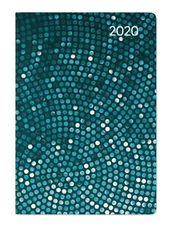 Ladytimer Mini Pailette 2020 – Taschenplaner – Taschenkalender (8 x 11,5) – Weekly – 144 Seiten – Notizbuch – Terminplaner von ALPHA EDITION