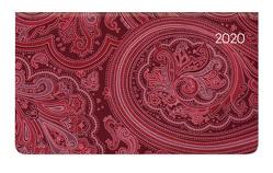 Ladytimer Pad Arabian Pattern 2020 – Taschenplaner – Taschenkalender quer (16 x 9) – Weekly – 128 Seiten – Notizbuch – Terminplaner von ALPHA EDITION