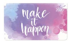 Ladytimer Pad Pastel Statement 2020 – Taschenplaner – Taschenkalender quer (16 x 9) – Weekly – 128 Seiten – Notizbuch – Terminplaner von ALPHA EDITION