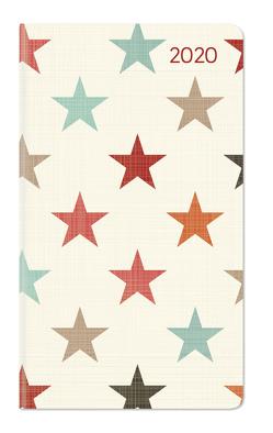 Ladytimer Slim Stars 2020 – Taschenplaner – Taschenkalender (9 x 16) – Weekly – 128 Seiten – Notizbuch – Terminplaner von ALPHA EDITION