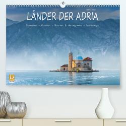 Länder der Adria (Premium, hochwertiger DIN A2 Wandkalender 2021, Kunstdruck in Hochglanz) von L. Beyer,  Stefan
