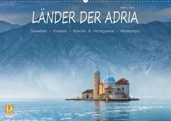 Länder der Adria (Wandkalender 2019 DIN A2 quer) von L. Beyer,  Stefan